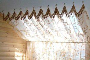 Шторы с провисами для вашего интерьера: купить готовые шторы или заказать индивидуальный пошив в Мытищах и Королеве