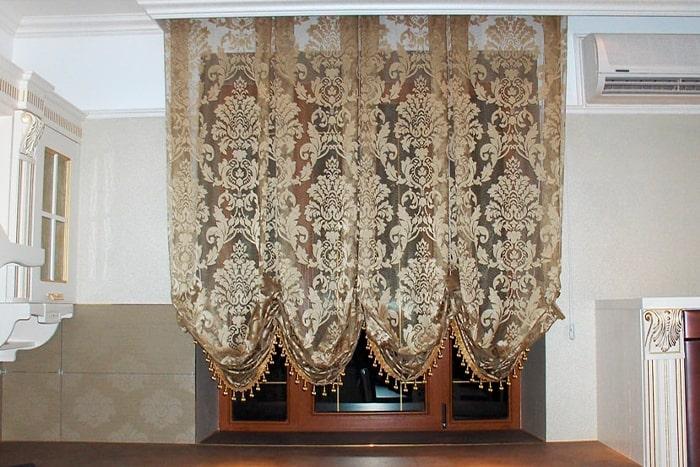 Австрийские шторы в Мытищах и Королеве – сочетание практичности и элегантности