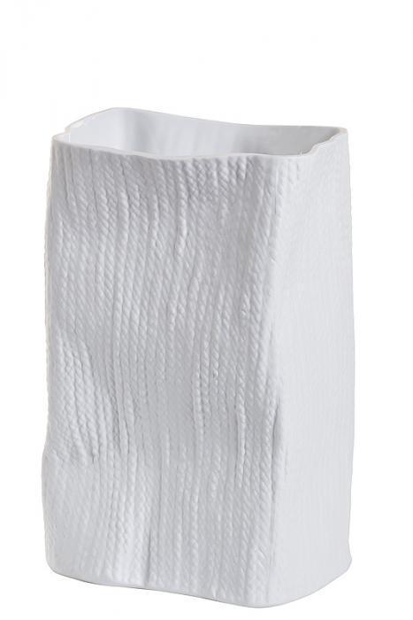 ваза керамическая (матовый белый)