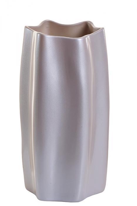 ваза керамическая (жемчужно-белый)