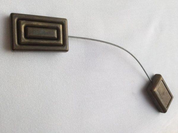 магнит металл на тросе