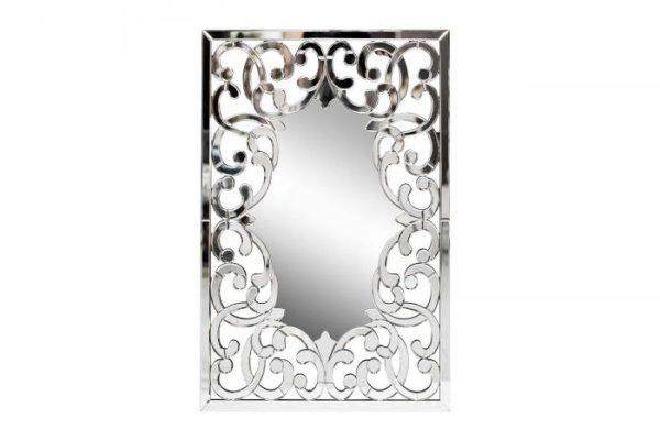 Зеркало декоративное с резным узором